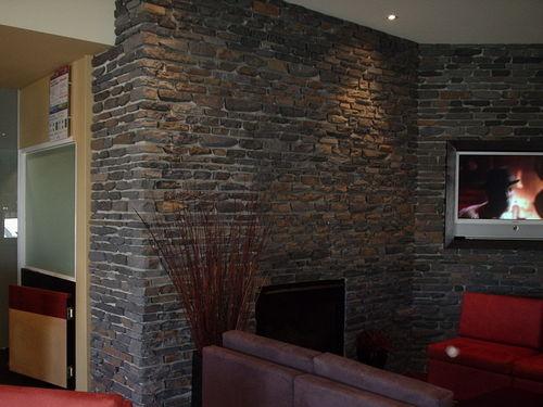 Interior Stone Feature Stone Wall Ballarat Melbourne