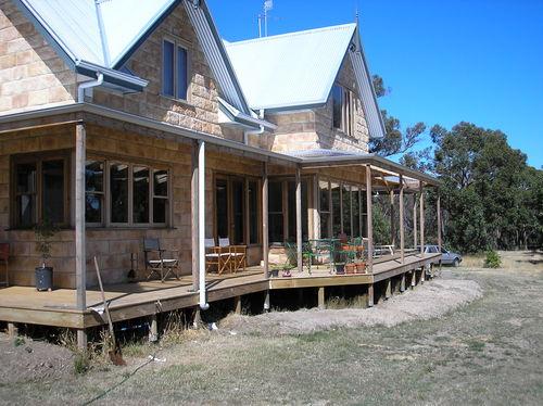 Urban Stone Homes Ballarat Melbourne Rustic